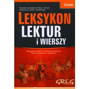 Leksykon Lektur i Wierszy. Liceum