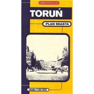 Torun. Plan Miasta (Skala 1:20 000). Copernicus
