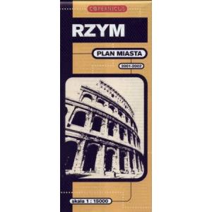 Rzym Plan Miasta