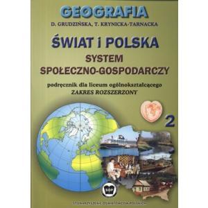 Geografia. LO kl. 2. Geografia. Rozsz. Podręcznik. 2004