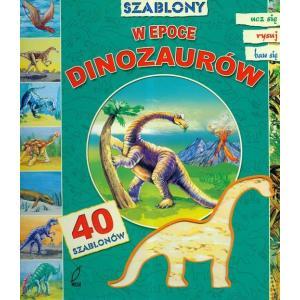 W epoce dinozaurów z 40 szablonami