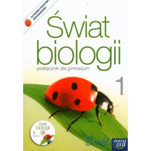 Świat biologii Gimnazjum kl. 1 podręcznik + CD