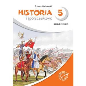 Historia i Społeczeństwo 5. Wehikuł Czasu. Ćwiczenia. Szkoła Podstawowa
