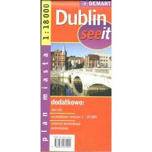 Dublin seeit plan miasta