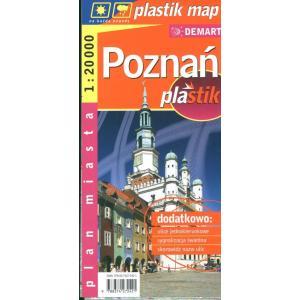 Poznań Laminowany Plan Miasta 1:20 Demart