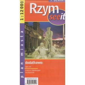 Rzym see it 1:20 000