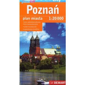 Poznań - Plan miasta - 1:20000