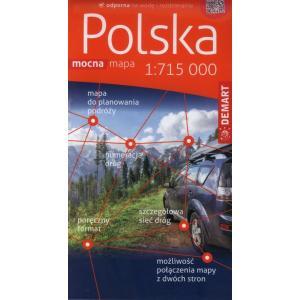 Polska Samochodowa 1:715 Mapa Plastik
