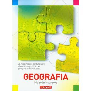 Geografia zadania na mapach konturowych