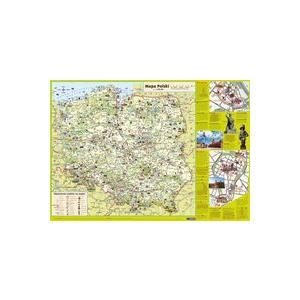 Mapa Polski Dla Dzieci. Mapa Podręczna