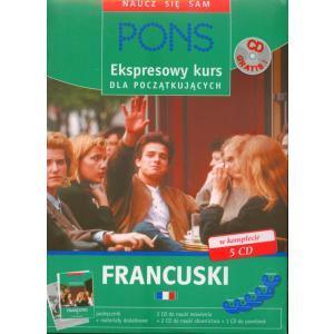 PONS Ekspresowy kurs dla początkujących. Francuski + CD