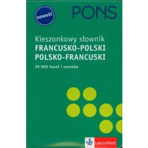 PONS Kieszonkowy Słownik Fran-pol-fran OOP