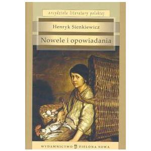 Nowele i Opowiadania Sienkiewicz oprawa twarda