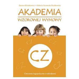 Akademia Wzorowej Wymowy CZ. Ćwiczenia Logopedyczne z Naklejkami