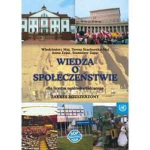 Wiedza o Społeczeństwie Podręcznik Wersja Rozszerzona Klasa 1-3 LO