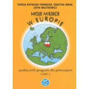 Geografia gimn 2 podręcznik moje miejsce w Europie