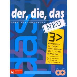Der Die Das Gim 3 Kont. New Podręcznik +CD