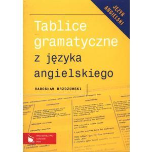 Tablice Gramatyczne z Języka Angielskiego