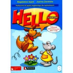 Hello Starter. Język Angielski. Podręcznik + CD. Szkoła Podstawowa