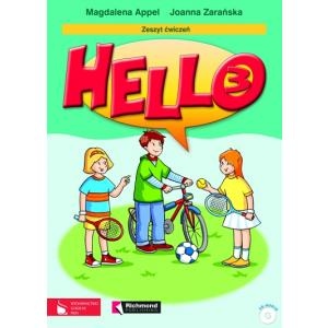 Hello 3. Język Angielski. Ćwiczenia + CD. Szkoła Podstawowa
