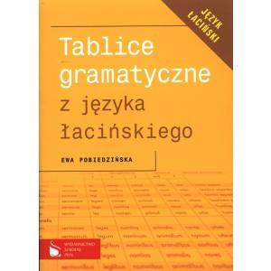 Tablice Gramatyczne z J. Łacińskiego PWN