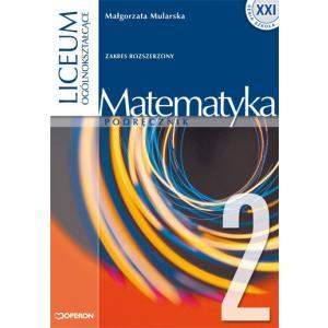 ZxxxMatematyka Liceum/Technikum kl. 2 podręcznik zakres rozszerzony stara linia