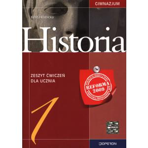 Historia Gimnazjum kl. 1 ćwiczenia wydanie 2009 (Operon)
