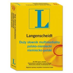 L.Duży Słownik Multimedialny Niemiecko/Polsko/Niemiecki
