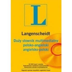 Duży Słownik Multimedialny Polsko-Angielski i Angielsko-Polski CD
