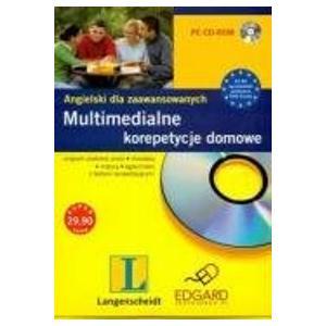 Multimedialne korepetycje domowe. Ang. dla zaaw. CD-ROM
