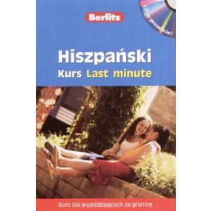 Berlitz Last minute - hiszpański kurs językowy +CD