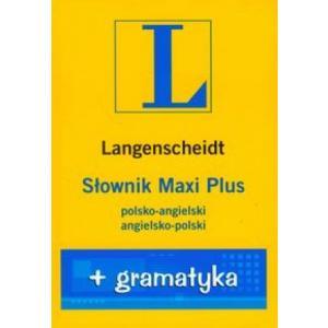 Słownik Maxi Plus. Pol-ang ang-pol + gramatyka. Opr flexi
