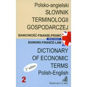 Słownik Terminologii Gospodarczej. Tom 2. Polsko - Angielski