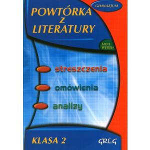 Powtórka z literatury - Gimnazjum klasa 2
