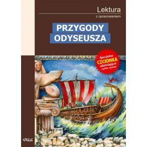 Przygody Odyseusza z opracowaniem oprawa miękka