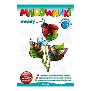 Malowanki - cz. 7 - owady OOP