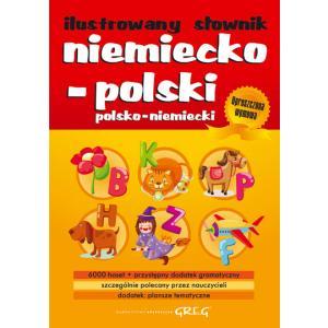 Ilustrowany słownik niemiecko-polski, polsko-niemiecki oprawa miękka