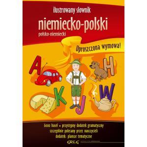 Ilustrowany słownik niemiecko-polski, polsko-niemiecki oprawa twarda