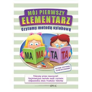 Mój Pierwszy Elementarz - Czytamy Metodą Sylabową