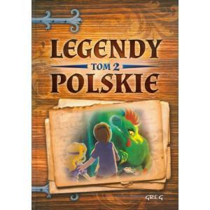 Legendy polskie tom 2 zielone oprawa twarda OOP