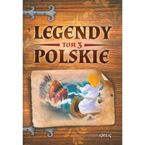 Legendy polskie tom 3 niebieskie oprawa twarda OOP