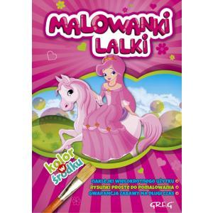 Malowanki - Lalki