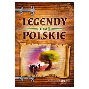Legendy polskie tom 1 różowe oprawa miękka OOP