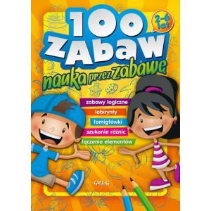 100 zabaw - nauka przez zabawę