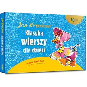 Jan Brzechwa Klasyka wierszy dla dzieci oprawa twarda