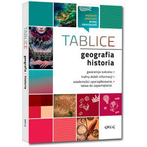 Tablice: geografia + historia oprawa miękka