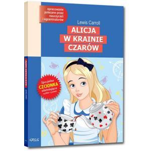 Alicja w Krainie Czarów z opracowaniem oprawa miękka