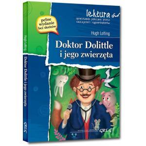 Doktor Dolittle i jego zwierzęta z opracowaniem oprawa miękka