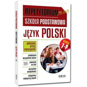 Repetytorium na 100%. Szkoła Podstawowa. Język polski. Klasy 7-8