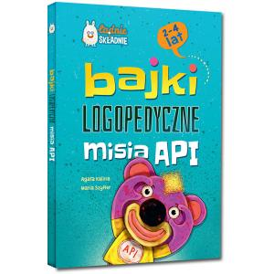 Bajki logopedyczne misia API (2-4 lat)